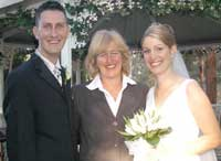 Melissa Halliday Wedding
