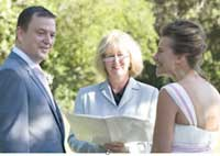 Celebrant Melissa Halliday Wedding
