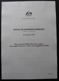 attorney generals department marriage certificate application form